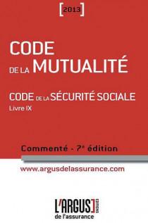 Code de la mutualité commenté 2013