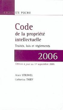 Code de la propriété intellectuelle 2006