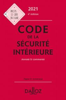 Code de la sécurité intérieure 2021