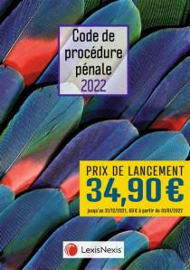 Code de procédure pénale 2022 (jaquette amovible plumes)