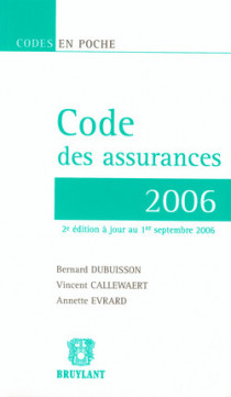 Code des assurances 2006