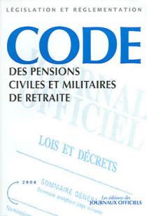 Code des pensions civiles et militaires de retraite 2004