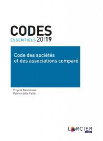 Codes essentiels - Code des sociétés et des associations comparé 2019