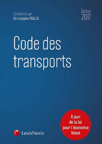 Code des transports - Edition 2017