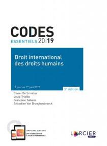 Codes essentiels - Droit international des droits humains 2019