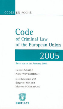 Code of Criminal Law of the European Union