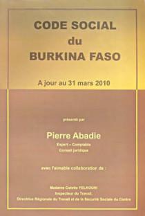 Code social du Burkina Faso