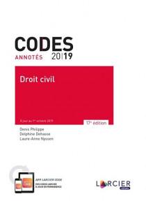 Codes annotés 2019 - Droit civil