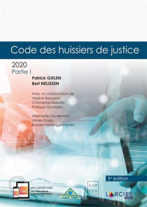 Code des huissiers de justice 2020, 2 volumes