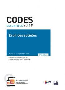 Codes essentiels 2019 - Droit des sociétés