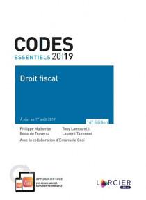 Codes essentiels 2019 - Droit fiscal