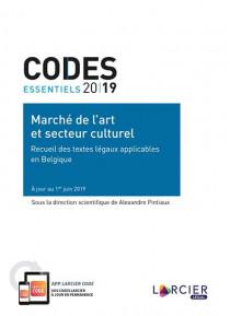 Codes essentiels 2019 - Marché de l'art et secteur culturel