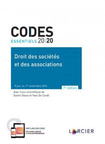 Codes essentiels 2020 - Droit des sociétés