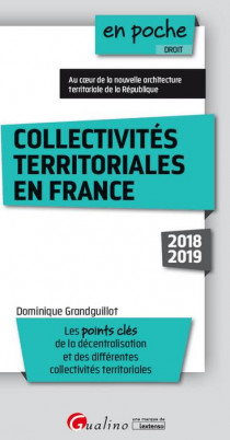 [EBOOK] Collectivités territoriales en France
