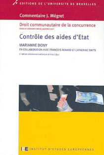 Commentaire J. Mégret : contrôle des aides d'Etat