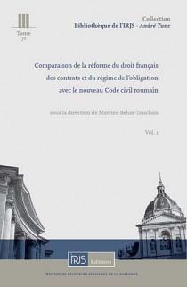 Comparaison de la réforme du droit français des contrats et du régime de l'obligation avec le nouveau Code civil roumain