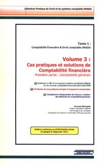 Comptabilité financière & Droit comptable OHADA : cas pratiques et solutions de comptabilité financière