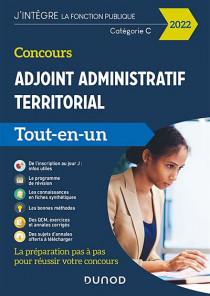 Concours adjoint administratif territorial : catégorie C 2022