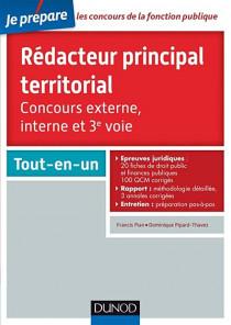 Concours rédacteur principal territorial