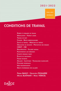 Conditions de travail 2021-2022