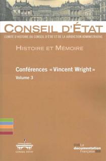 """Conférences """"Vincent Wright"""""""