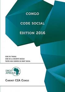 Congo : code social - Edition 2016