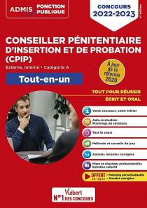 Conseiller pénitentiaire d'insertion et de probation (CPIP) - Concours 2022-2023