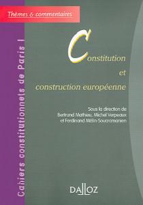 Constitution et construction européenne