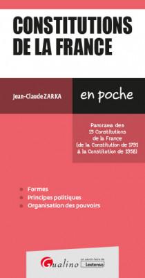 [EBOOK] Constitutions de la France