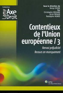 Contentieux de l'Union européenne / 3