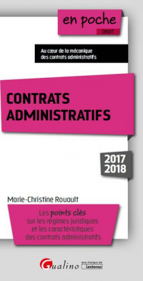 [EBOOK] Contrats administratifs