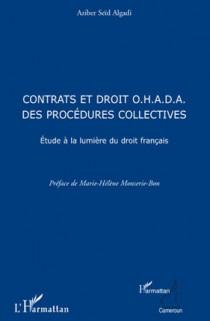 Contrats et droit O.H.A.D.A. des procédures collectives