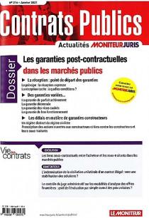 Contrats publics, janvier 2021 N°216