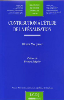 Contribution à l'étude de la pénalisation