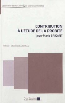Contribution à l'étude de la probité