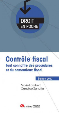 [EBOOK] Contrôle fiscal 2017