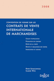 Convention de Vienne sur les contrats de vente internationale de marchandises 2008