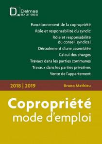 Copropriété, mode d'emploi 2018-2019