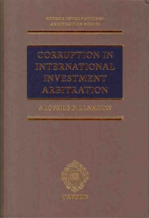 Corruption in International Investment Arbitration