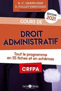 Cours de droit administratif - Édition 2021