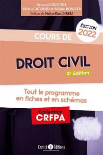 Cours de droit civil - Édition 2022