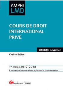 [EBOOK] Cours de droit international privé