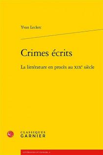 Crimes écrits