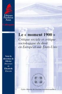 Le « moment 1900 »