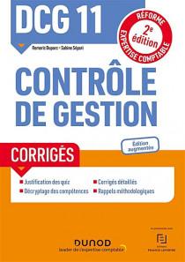 DCG 11 Contrôle de gestion