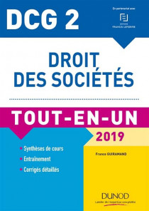 DCG 2 : droit des sociétés 2019
