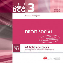 DCG 3 - Droit social [EBOOK]