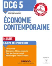 DCG 5 économie contemporaine : manuel 2021-2022