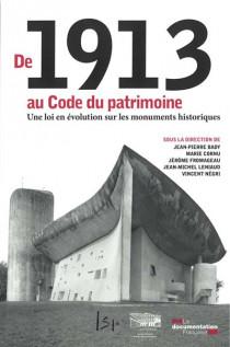 De 1913 au Code du patrimoine