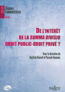 De l'intérêt de la summa divisio droit public-droit privé ?